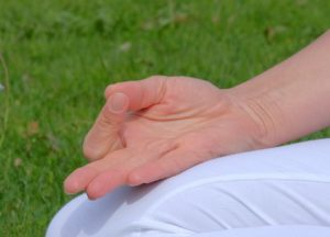 Fingermudra/ AnandaYogalehrerausbildung