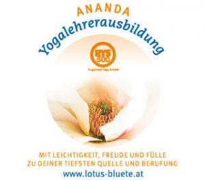 Logo Ananda Yogalehrerausbildung Wien